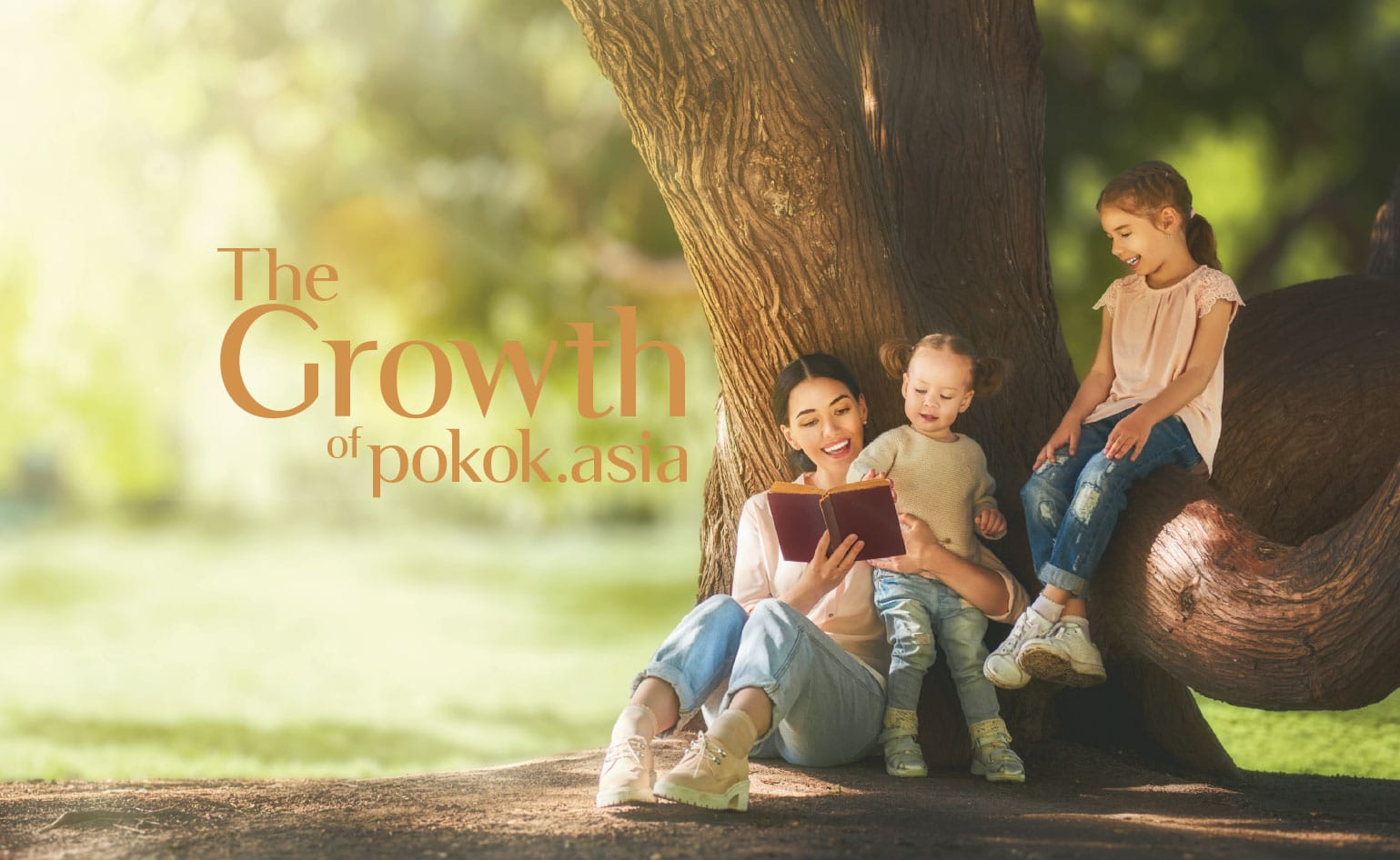 The Growth of Pokok.Asia