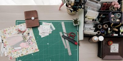 Getting crafty while staying at home; Image via Vladimir Proskurovskiy